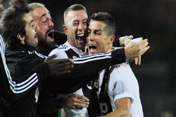 Ronaldo ở juventus khác xưa