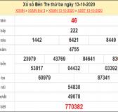 Dự đoán xổ số Bến Tre 20-10-2020