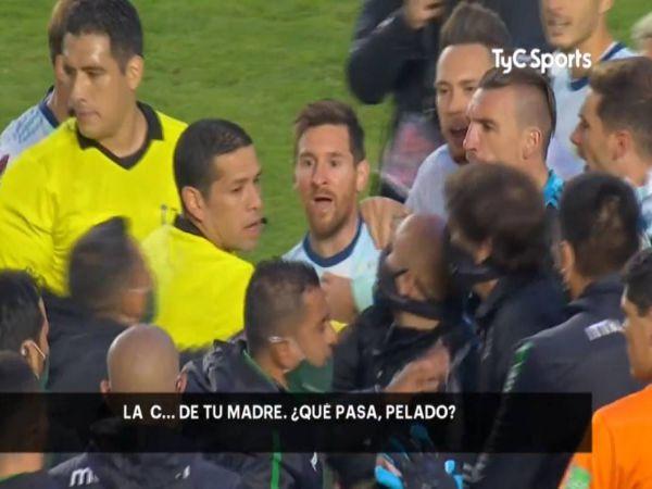 Tin thể thao tối 14/10: Messi nổi điên chửi HLV đối thủ như tát nước