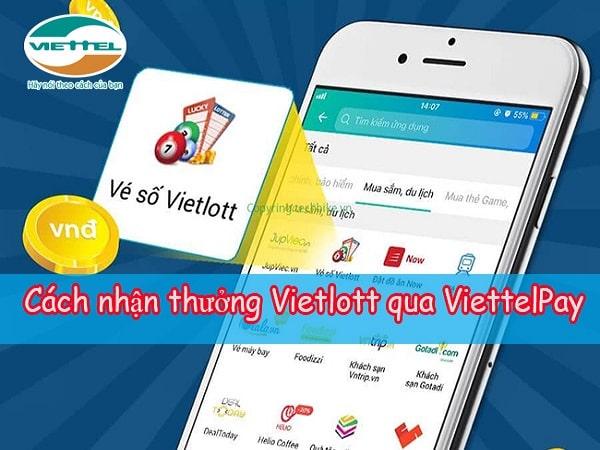 Cách nhận thưởng Vietlott online đơn giản, an toàn