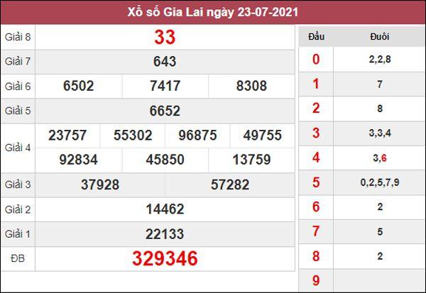 Dự đoán XSGL 30/7/2021 chốt đầu đuôi giải đặc biệt thứ 6