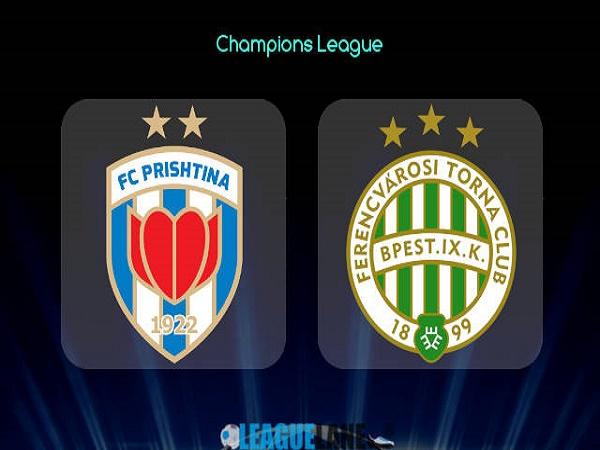 Soi kèo Prishtina vs Ferencvarosi – 01h00 14/07/2021, Cúp C1 châu Âu