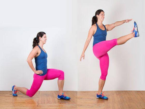 Bài tập mông cho nữ giúp vòng 3 căng tròn săn chắc
